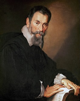 Bernardo Strozzi - Claudio Monteverdi (c. 1630)